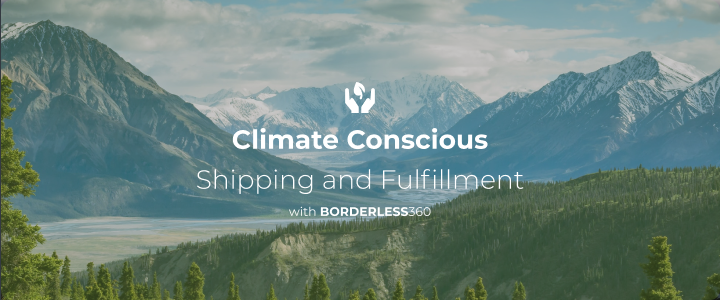 Climate Conscious Shipping and Fulfillment